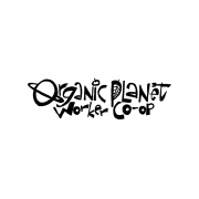 logo planet organic worker co-op